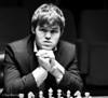 Magnus Carlsen at the start of Round 10