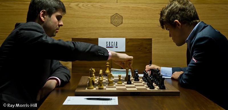 Round 5: Peter Svidler vs Magnus Carlsen