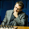 Levon Aronian at the start of Round 5