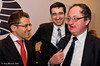 Levon Aronian, Vladimir Kramnik and Boris Gelfand share a joke