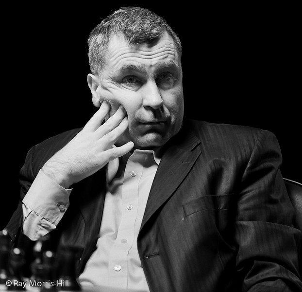 Vassily Ivanchuk at the start of Round 2
