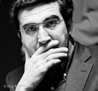 Vladimir Kramnik at the start of the final round