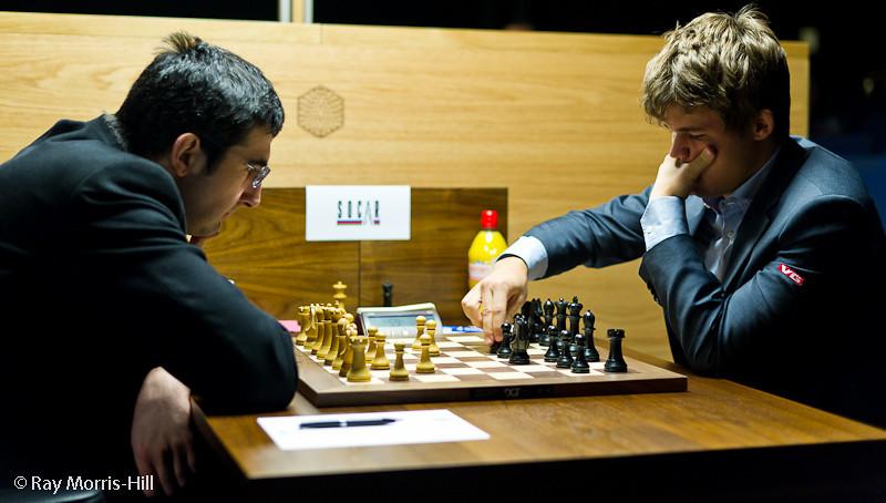 Round 9: Vladimir Kramnik vs Magnus Carlsen