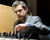 Levon Aronian at the start of Round 3