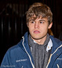 The formalities over, Magnus Carlsen goes out on the town.