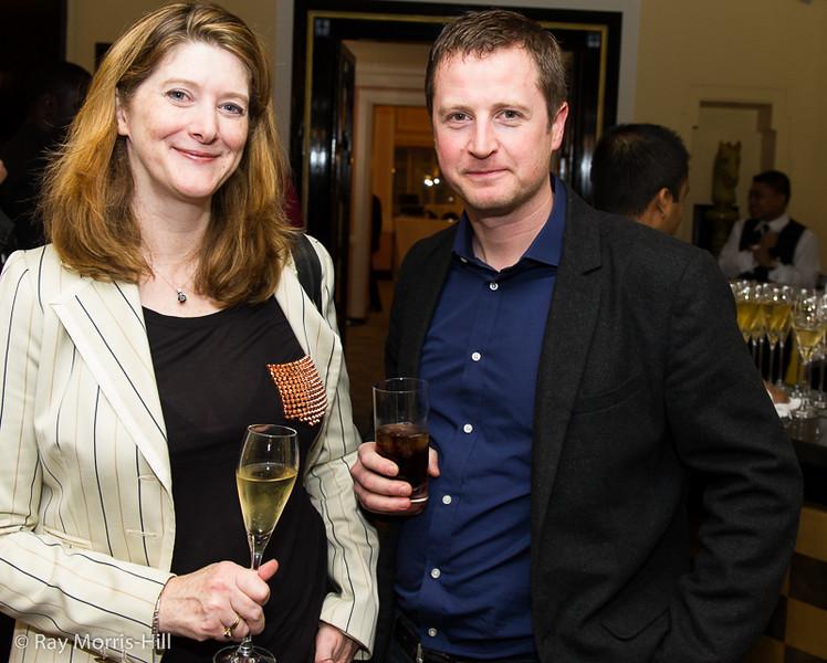 Tara Mcgowan and Jeremy Hodgson