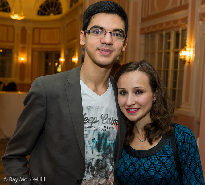 Anish Giri and Sopiko Guramishvili
