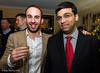 Lawrence Trent and Vishy Anand