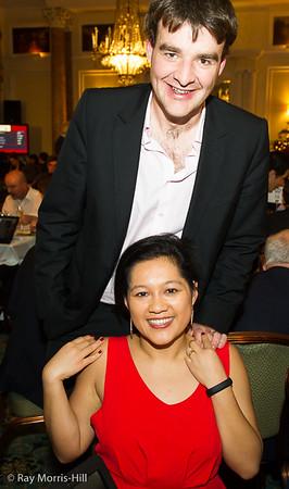 Sue Maroroa Jones with husband Gawain
