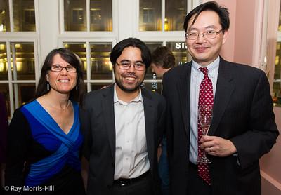 Carolyn Nakamura, Hikaru Nakamura and Dave Chan