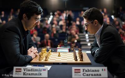 Round 4: Vladimir Kramnik vs Fabiano Caruana