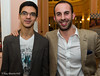 Anish Giri and Lawrence Trent