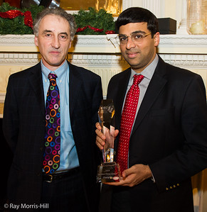 Malcolm Pein and Vishy Anand