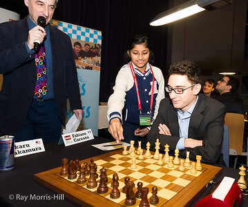 Round 5 and Fabiano Caruana gets some help