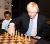 Mayor of London Boris Johnson opens the London Chess Classic