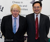 Boris Johnson  and Dave Chan, CEO of Barclaycard
