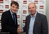 Gawain Jones and Sir Clive Woodward