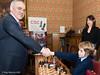 Garry Kasparov accepts the resignation of Oscar, Rachel Reeves  MP looks on
