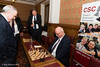 Garry Kasparov finds Lord Harrison to be a tough competitor