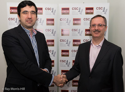 Vladimir Kramnik and Russell Picot