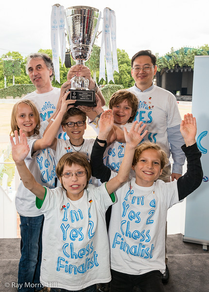 Privates Gymnasium Brecht (Hamburg) win the Yes2Chess Trophy