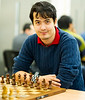 David Howell, playing in the Super Rapidplay