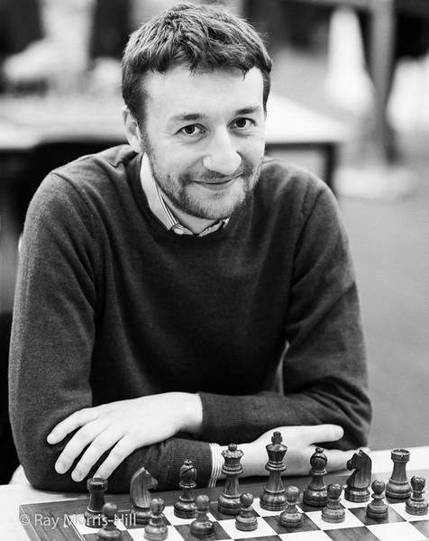 Luke McShane, winner of the Super Rapidplay