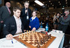 Magnus Carlsen gets some opening help at the start of Round 4