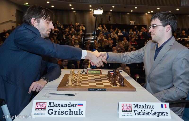Round 4: Alexander Grischuk vs Maxime Vachier-Lagrave