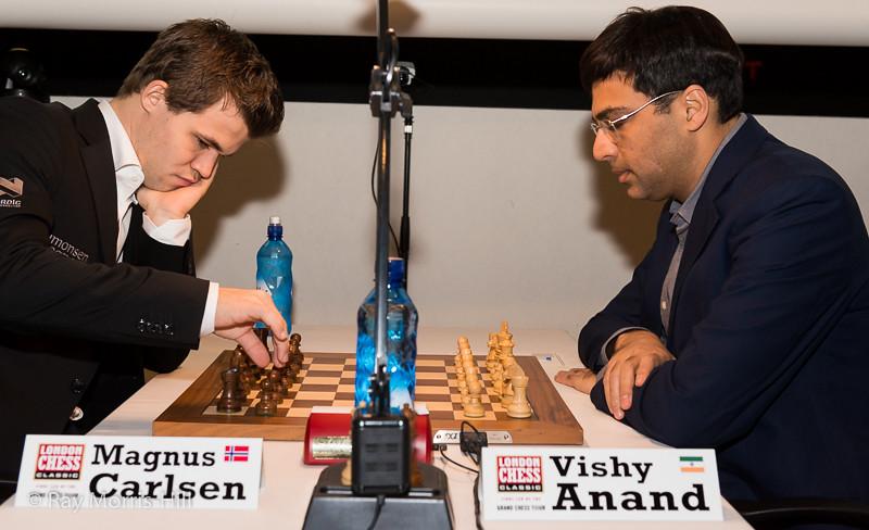 Round 3:  Vishy Anand vs Magnus Carlsen