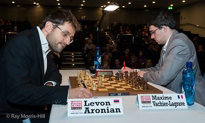 Levon Aronian vs Maxime Vachier-Lagrave