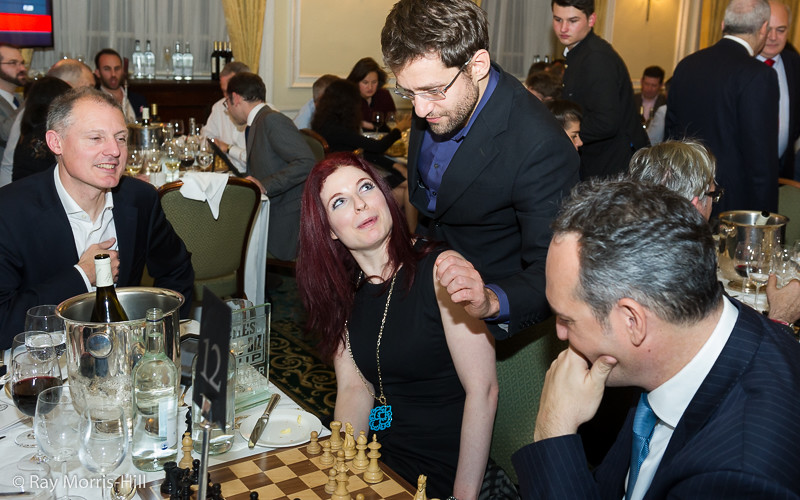 Levon Aronian is disarmed by Jennifer Shahade