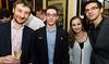 Luke McShane, Fabiano Caruana, Sopiko Guramishvili and Anish Giri