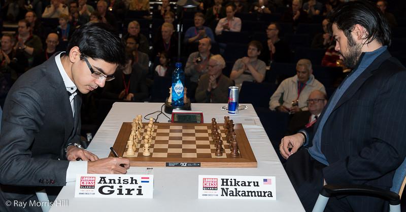 Anish Giri vs Hikaru Nakamura