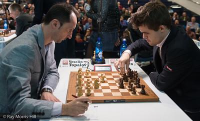Veselin Topalov vs Magnus Carlsen