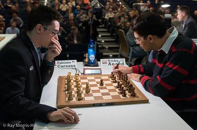 Fabiano Caruana vs Vishy Anand