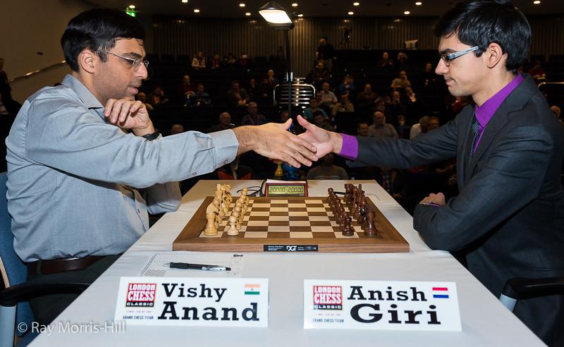 Vishy Anand vs Anish Giri