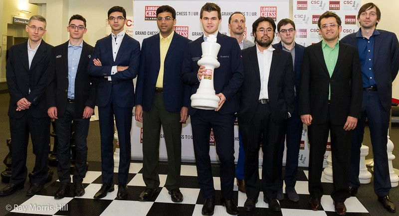 The London Chess Classic Line-Up