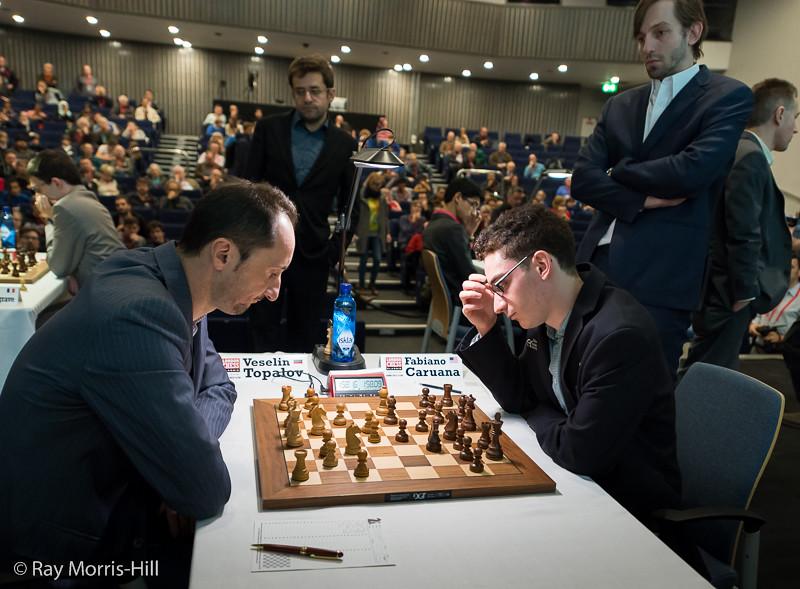 Round 4: Veselin Topalov vs Fabiano Caruana
