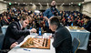 Round 4: Magnus Carlsen vs Michael Adams