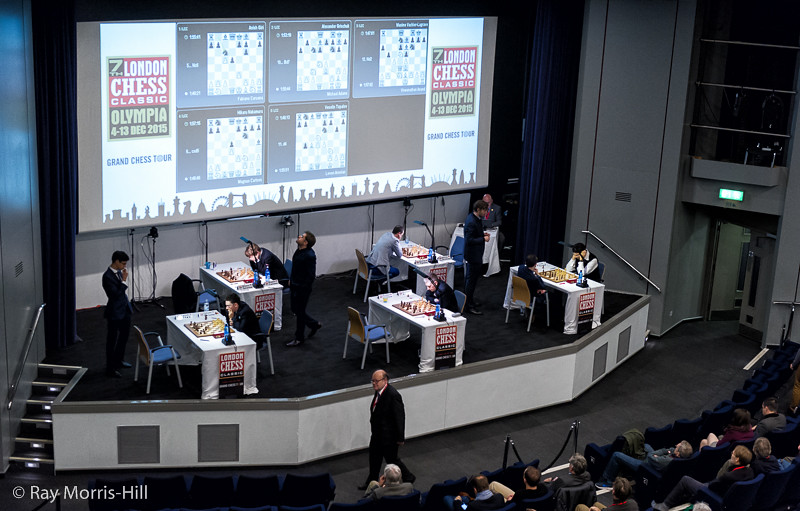View from the top - the start of Round 7