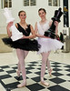 The Black Queen and White Queen - Rosy Nevard and Jenny Logan