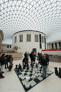 The Great Court of the British Museum, a fine venue for chess