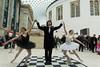 Rosy Nevard, Jason Kouchak and Jenny Logan perform Reflections
