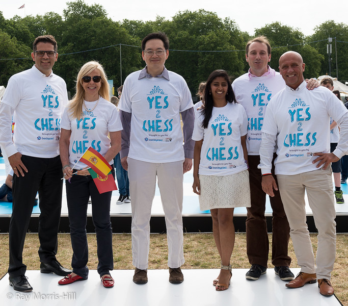 Dave Chan and the Barclaycard team
