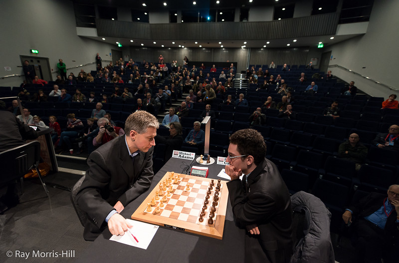 Round 7: Michael Adams vs Fabiano Caruana