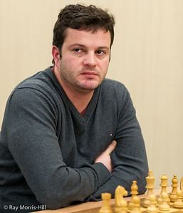 Etienne Bacrot, joint winner of the FIDE Open