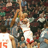 Boris Diaw shoots over Taj Gibson