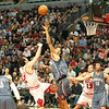 Nobody knows what made Hinrich think he could take it to Tyson Chandler