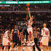 Tip-off with Joakim Noah and Ben Wallace